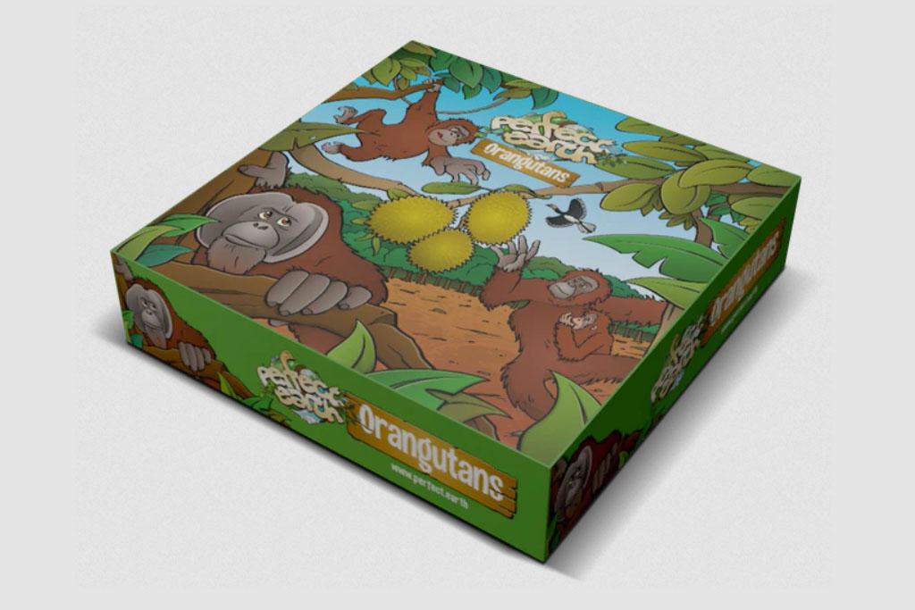 """Featured image for """"Perfect Earth: Orangutans – een bordspel met een missie"""""""