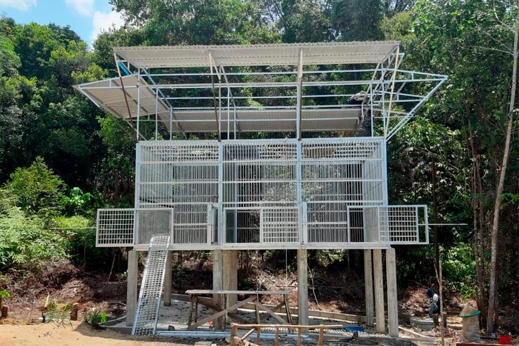 Het nieuwe quarantaine- en isolatieverblijf in Jerora | Foto: SOC